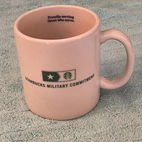 Starbucks Military Commitment mug